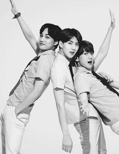 Kai, Sehun, and Baekhyun