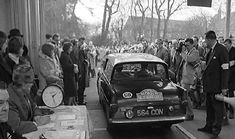 Ford Anglia - Car No 239 Monte Carlo Rally, Ford Anglia, Rally Car, Motors, Wheels, British, Racing, Birds, History