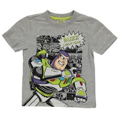 Boys Toy Story Buzz Lightyear T Shirt - Novelty-Characters - 1