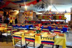 Colombia Party Decor