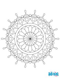 You need to fill shades in these mandala coloring sheets to make them complete. So fill these coloring pages of mandala right now. Geometric Coloring Pages, Mandala Coloring Pages, Colouring Pages, Coloring Books, Coloring Sheets, Mandalas Drawing, Mandala Painting, Mandala Art, Pattern Art
