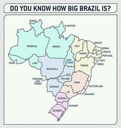 Brazil is Big | isnichwahr.de