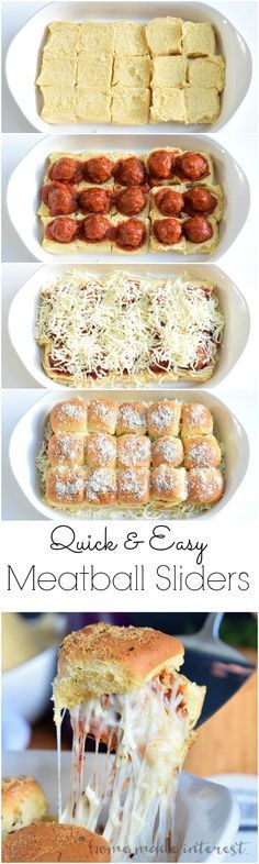 cheesy Meatball Sliders are an easy appetizer recipe for game day. Make th These cheesy Meatball Sliders are an easy appetizer recipe for game day. These cheesy Meatball Sliders are an easy appetizer recipe for game day.