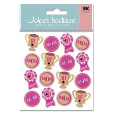Jolee's scrapbooking sticker I Love Mom Repeats item 50-20799.    $1.25    (Holiday, Seasonal, Mother's Day, Mom)