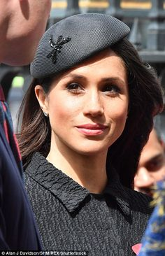 The future royal looked flawless in her second outfit change of the day as she was joined by Prince Harry at Westminster Abbey