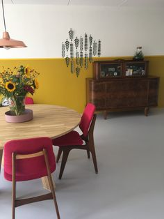 L Shaped Living Room Layout, Coaching, Dining Table, Decoration, Interior, Furniture, Home Decor, Style, Yellow