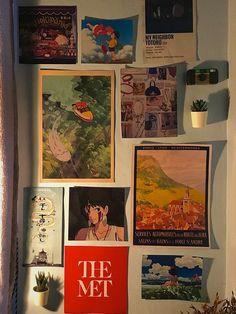 Room Ideas Bedroom, Bedroom Decor, Bedroom Inspo, Totoro, Otaku Room, Cute Room Ideas, Indie Room, Pretty Room, Aesthetic Room Decor