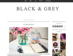 Minimalistic elegant and simple blogger template by BestPlanners
