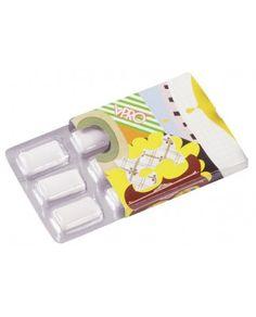 Pakjes Kauwgom bedrukken - Kauwgomblisters met 6 stuks met full-colour opdruk!
