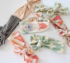 Cute headbands. I want to make some of these!