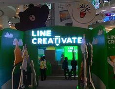 """Check out new work on my @Behance portfolio: """"LINE CREATIVE"""" http://be.net/gallery/45560115/LINE-CREATIVE"""