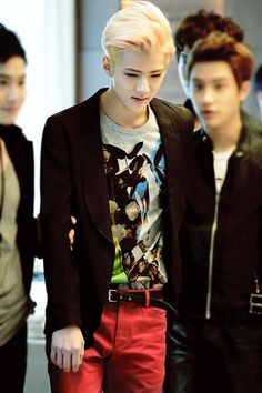 Someone saved this to a board called tomboy style and I'm pretty sure they think sehun is a girl who has a tomboy style lol