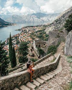 Voyage Montenegro, Montenegro Kotor, Montenegro Travel, Cool Places To Visit, Places To Travel, Travel Destinations, Greece Destinations, Travel Pictures, Travel Photos