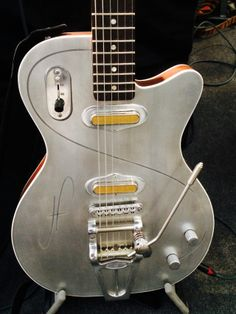 aluminum top guitar
