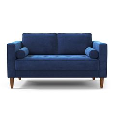 Ballin' on a budget? Who isn't these days?! The Delilah is available in Apartment size or Loveseat size has you covered on both fronts: It's stylish AND affordable. Instantly add an elegant new addition to your home witha beautiful new apartment size sofa or loveseat! It has a bench-style seat cushion that features button-tufting on one side, and tufting pulls on the other so no matter what you're in the mood for the Delilah has you covered! Keep the side bolster pillows for added glam or…
