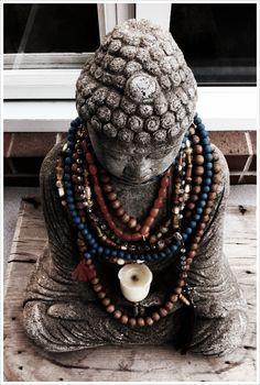 #Buddha with many malas