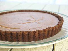 Ginger Pumpkin Tart #Thanksgiving #ThanksgivingFeast #Dessert