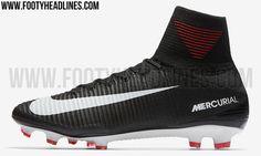 Black Nike Mercurial Superfly V 2017-18 Boots Leaked - Footy Headlines
