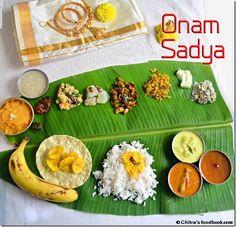 Chitra's Food Book: ONAM SADYA RECIPES | KERALA RECIPES