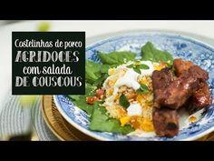 Inspiração: Costelinhas de porco agridoces com salada de couscous @ O Chef e a Chata