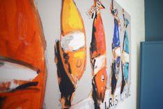 tableau poisson dans les chambres les charmettes saint malo