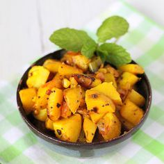 Potatoes with whole indian spices. Vegan. glutenfree | Vegan Richa