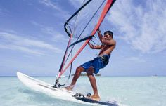 Try Something New : Maldives Wind-Surfing !!