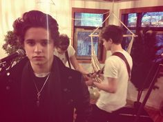 Brad James and Connor