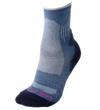 Technical sock for temperate or cool climates