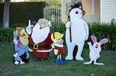 Frosty the Snowman yard display Sale reg. Christmas Lawn Decorations, Christmas Yard Art, Christmas Wood, Christmas Crafts, Yard Decorations, Christmas Ideas, Christmas Stuff, Lawn Ornaments, Christmas Signs