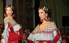 Resultado de imagen de jlu zambonino trajes de flamenca