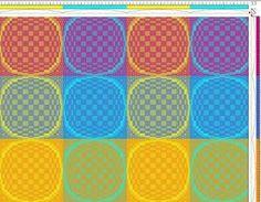 Bilderesultat for deflected double weave patterns