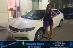 #HappyBirthday to Pamela from Christian Contreras at Honda Cars of Rockwall!  https://deliverymaxx.com/DealerReviews.aspx?DealerCode=VSDF  #HappyBirthday #HondaCarsofRockwall