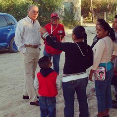 Esta mañana, el Presidente Municipal Jose Elías Leal acudió a las colonias Almaguer, La Joya, Lucio Blanco y la Satélite, en donde recorrió las pavimentaciones y atendió y escucho de viva voz las inquietudes de los ciudadanos. #Reynosa