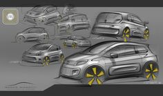 Fiat Uno - sketch research Marco Gianotti