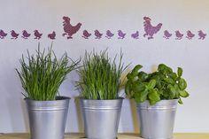 Frische Kräuter im Bauernhaus // Fresh herbs in the cottage Private Sauna, Planter Pots, Modern Farmhouse, Cottage House, Plant Pots