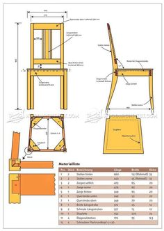 1706 Dining Chair Plans Furniture Plans and Projects is part of Dining chairs diy - Learn Woodworking, Woodworking Furniture, Furniture Plans, Woodworking Plans, Woodworking Projects, Unique Woodworking, Woodworking Workshop, Woodworking Techniques, Woodworking Videos