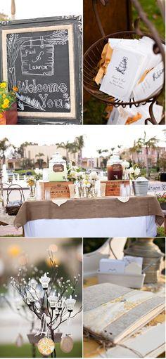 Drink table decor!