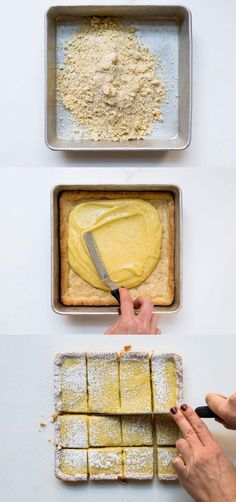To make beautiful lemon bars, first start with this easy lemon curd! YUM
