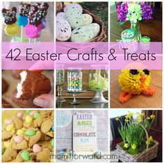 42 Easter Crafts and Treats via MomitForward.com