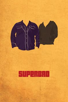 minimal poster only showing main character's top clothing. Instantly recognisable if you've seen the film as they're mainly wearing these pieces