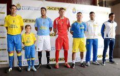 Presentación de la equipación de la UD Las Palmas