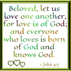 Christian Graphic Love One Another