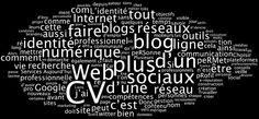 """Nuage de mots-clés du guide pratique """"Cultivez votre identité numérique"""" (contenu brut)"""