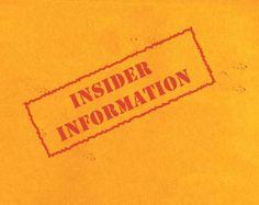 You Have Inside Information! -