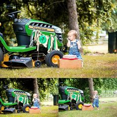 John Deere themed First birthday photography in Flower Mound Tx #childportraits #firstbirthday #Dallaschildphotographer #yourcandidmemories www.yourcandidmemories.com