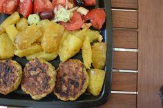 Μπιφτέκια με διαφορετικές πατάτες πεντανόστιμες !!! ~ ΜΑΓΕΙΡΙΚΗ ΚΑΙ ΣΥΝΤΑΓΕΣ 2