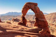 Le parc national des Arches, magnifique au coucher du soleil
