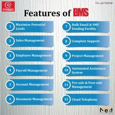 Features Of Business Management System