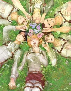 *zooms in on levi and petras hands* WHY ANNIE WHY DID U BREAK MY FAVE SHIP. now i gotta ship ereri nd levi x hanji